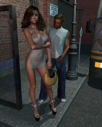 Princess At The Bus Stop - 4