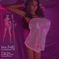 Una Competes For Miss Venus Islands!