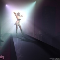 Delcine On Stage