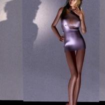 Odete In A Tight Dress