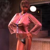 Randi In The Sauna 2