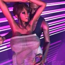 Una on the Dancefloor